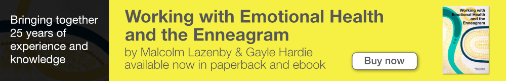 Link to sales page for book 'Working with emotional health and the Enneagram'